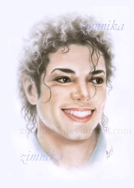 Michael Jackson. Smile. by zimnika7