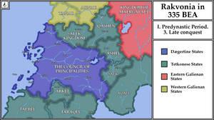 The Late conquest. 419 B.E.A -335 B.E.A.