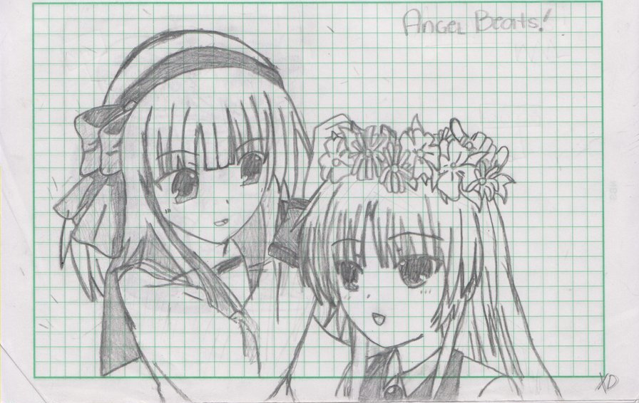 angel beats:yuri and k...