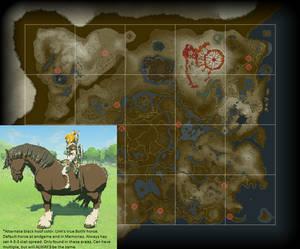 BotW Special Link Horse Easter Egg