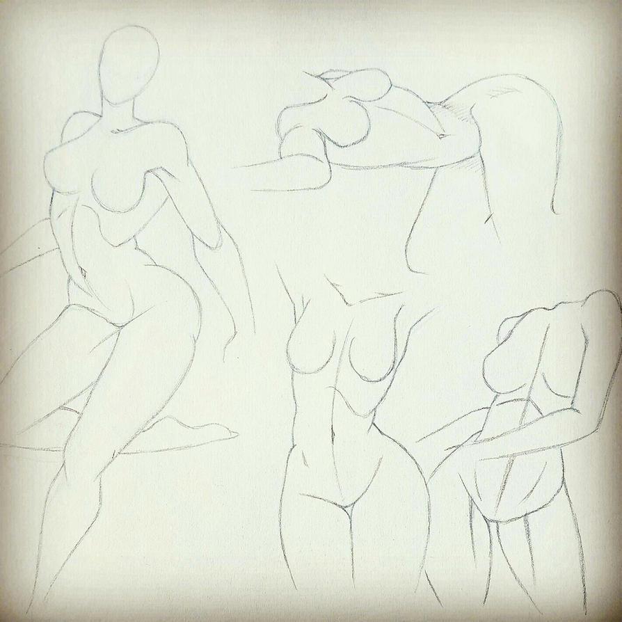 Female Anatomy Poses 2 by KoalaTheArtist on DeviantArt