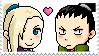 ShikaIno Stamp by CrystalLynnblud