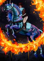 [Colderrian GP] Princess and Fire by SpiritWindcaper