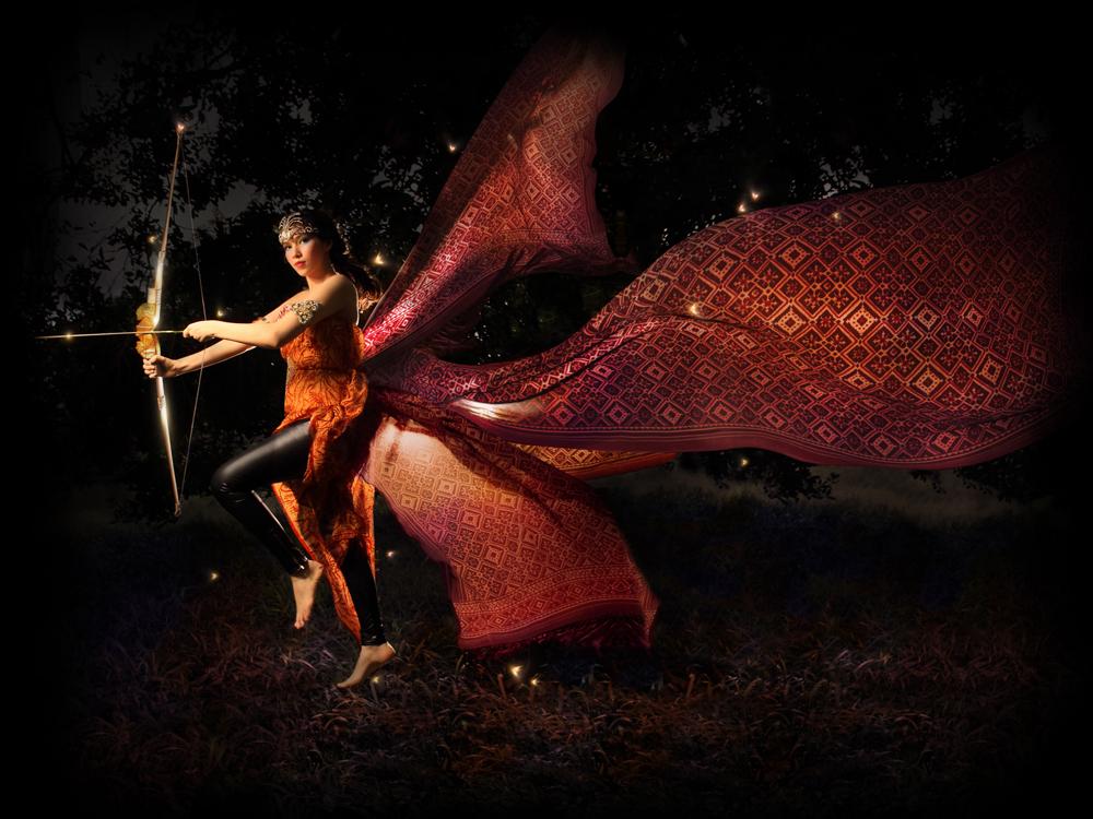 Srikandi the Lady Warrior by yannieroxxx