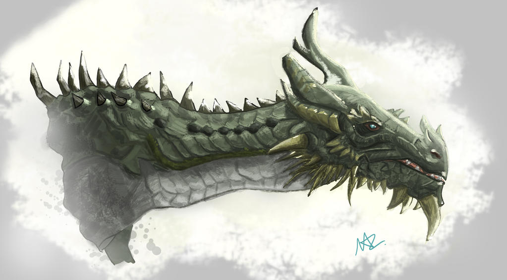 Paarthurnax by silver1ining