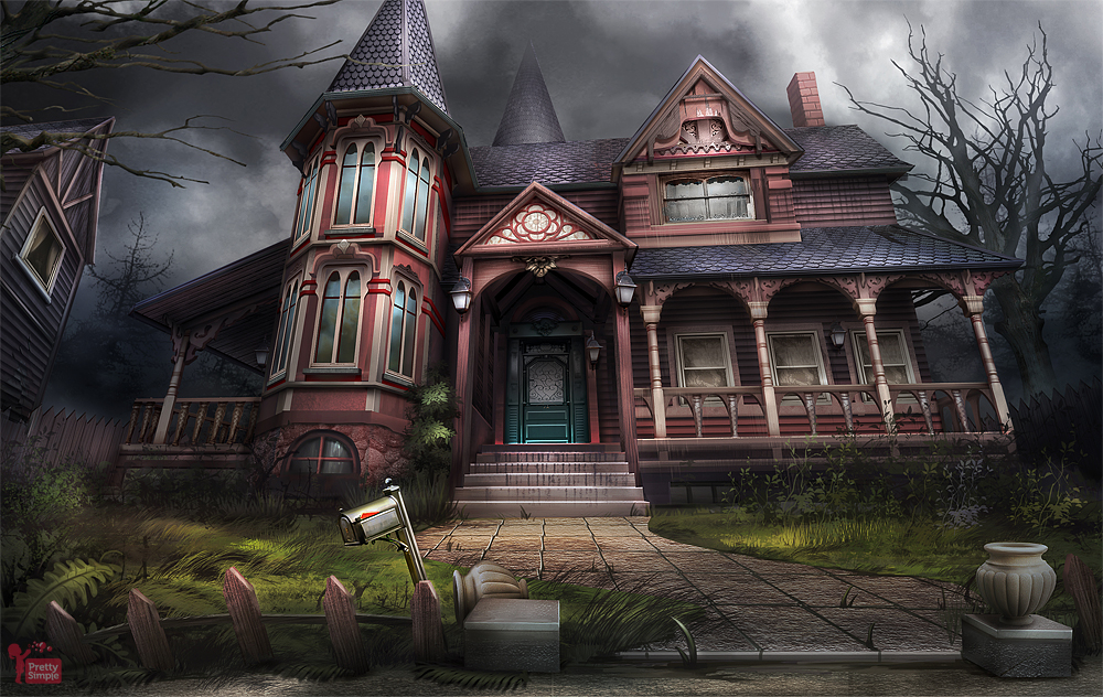 Haunted Victorian House By Dedyone On Deviantart