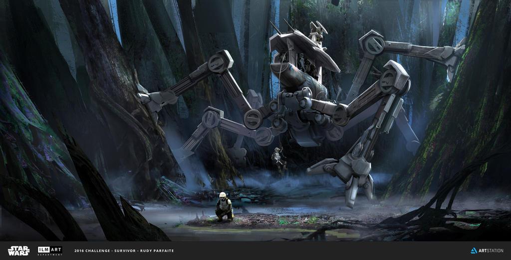 ILM Challenge - THE RIDE - The Swamp Spider by Dedyone