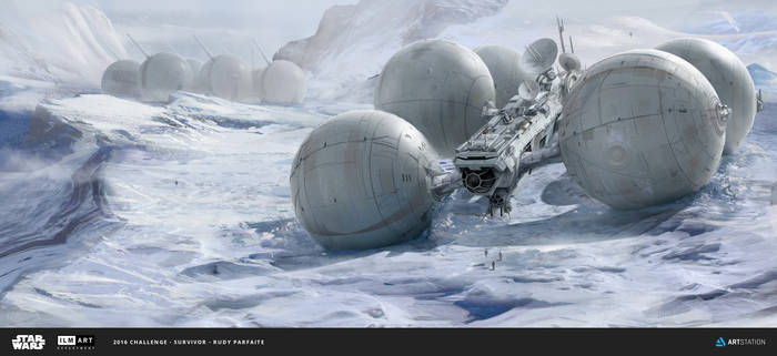 ILM Challenge - THE RIDE - The Snow Rover