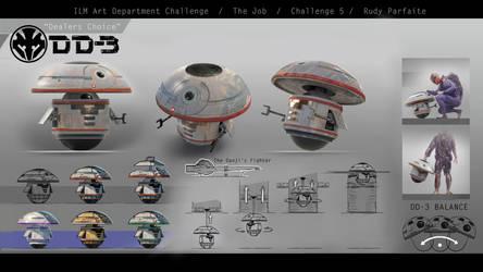 ILM Art Dept. Challenge - DD-3 design