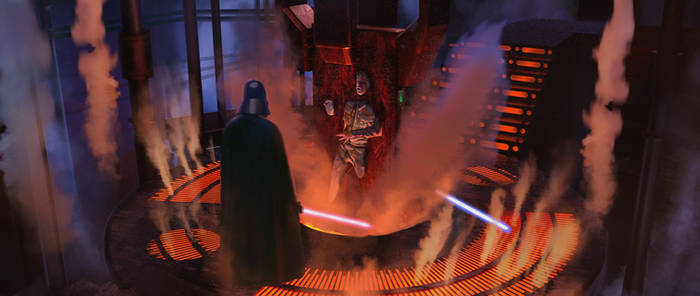 Star wars ILM challenge THE MOMENT - the trap