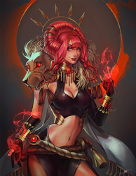 Sorceress by Afternoontm