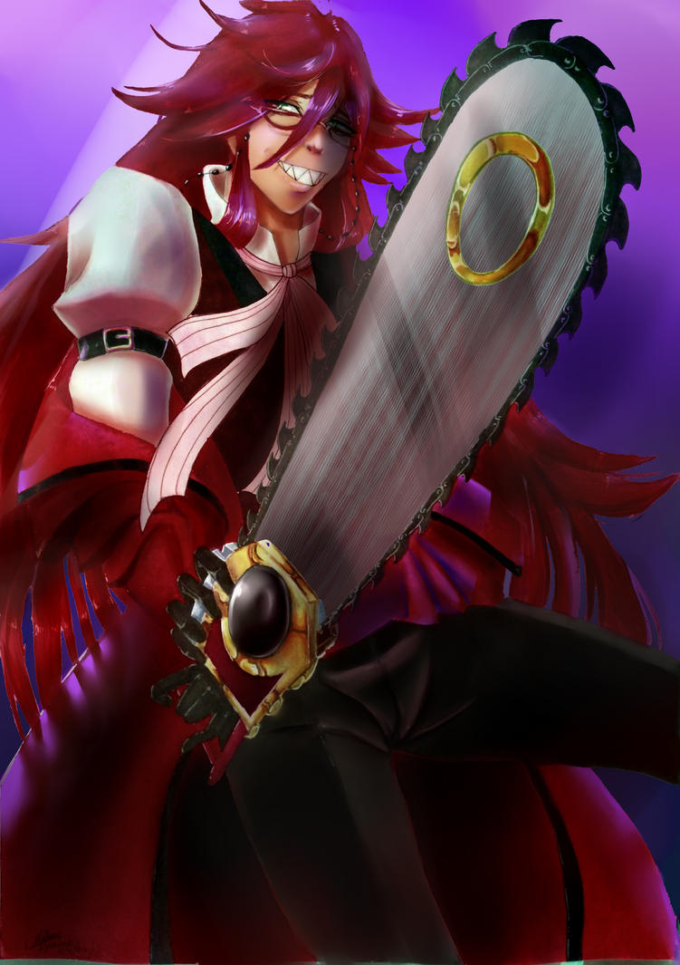 Grell by matthyko