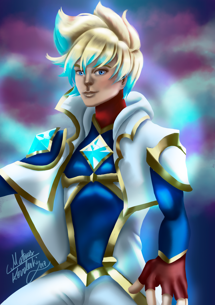 Ezreal Star Guardian by matthyko