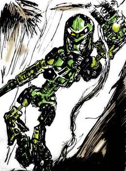 Bionicle - Toa Mata Lewa.