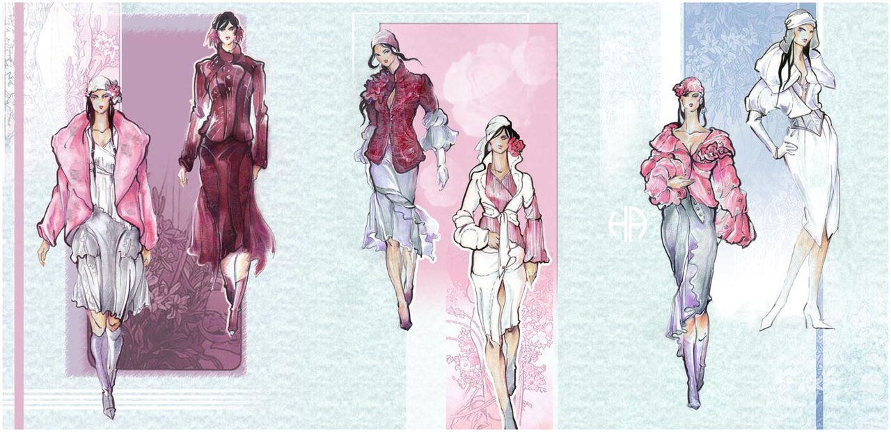 Fashion Sketches - Abal by Callista1981