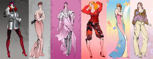 :More Fashion Sketches: