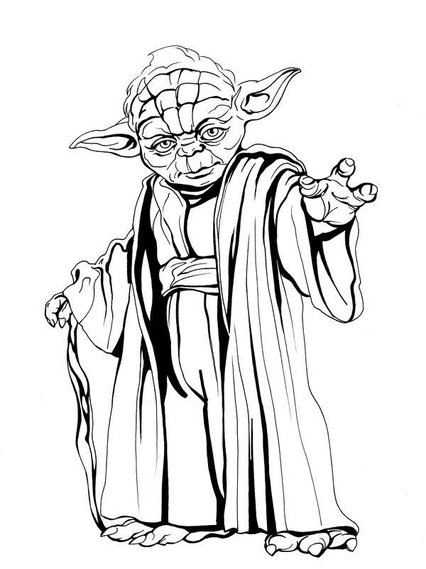 Line Art Yoda : Master yoda by callista on deviantart