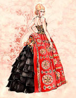 Evening Dress by Callista1981