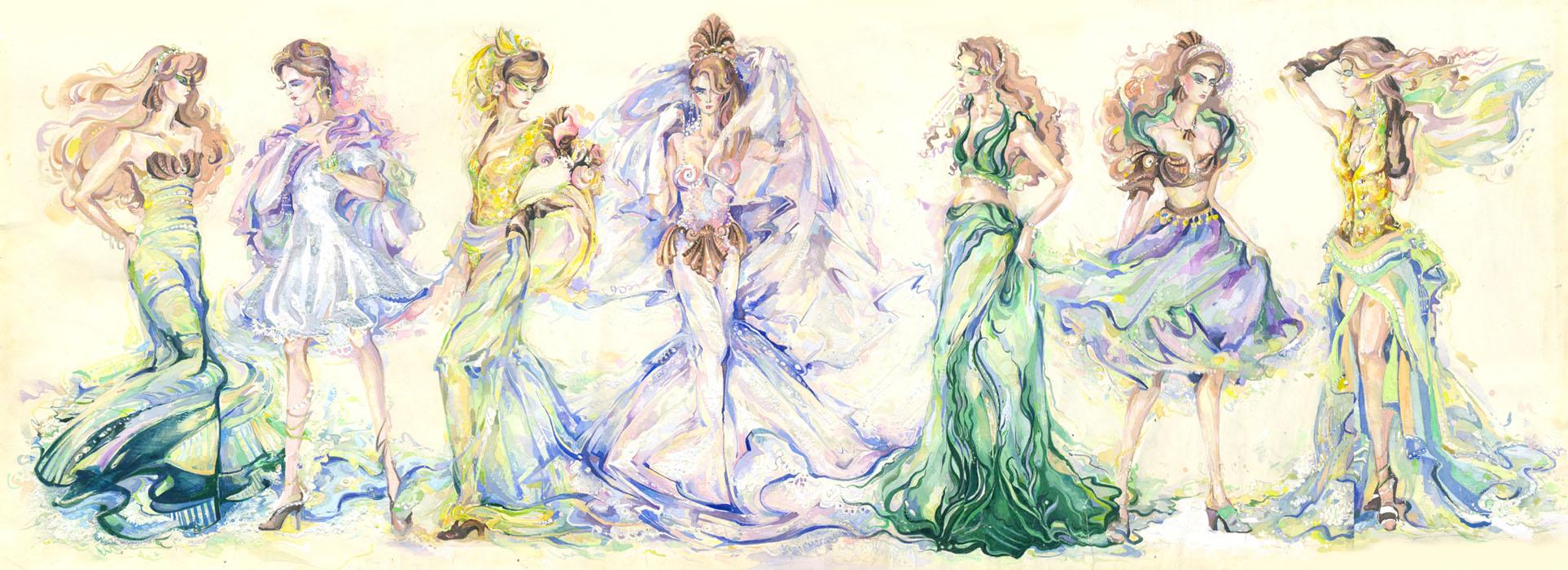 Marine Fashion Collection by Callista1981