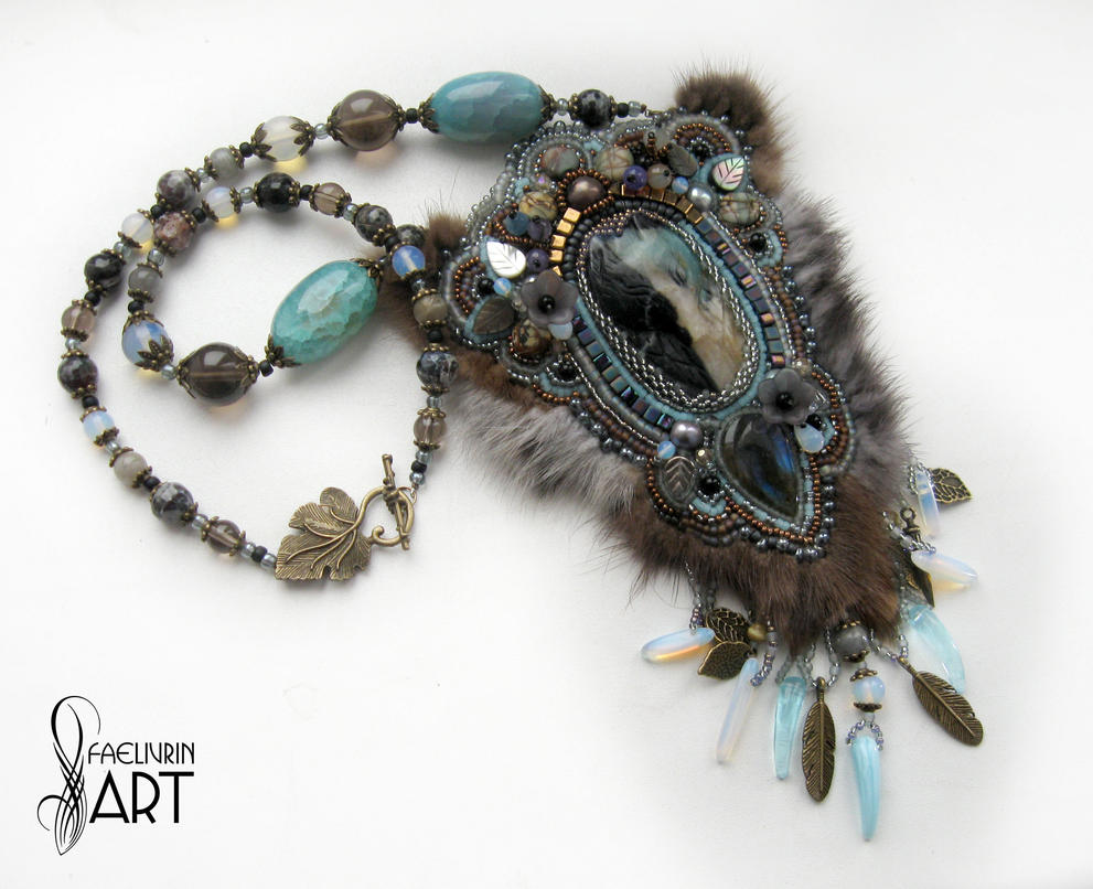 Guardian of the forest - Necklace totem by Callista1981