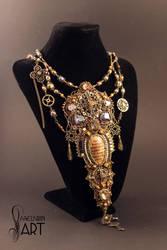Hogwarts Necklace by Callista1981