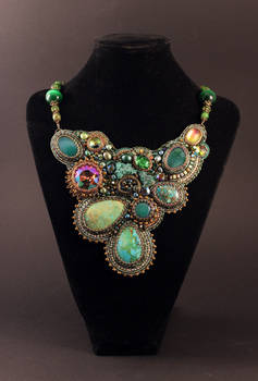 Necklace 'Mistress of the Copper Mountain'