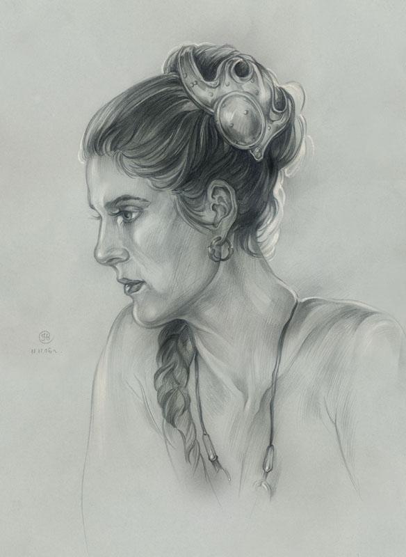 Leia. Epizode VI. by Callista1981