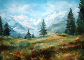 Mountain valley by Callista1981