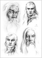 LOTR Characters - Part 1 by Callista1981