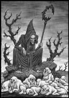 Shepherd by jflaxman