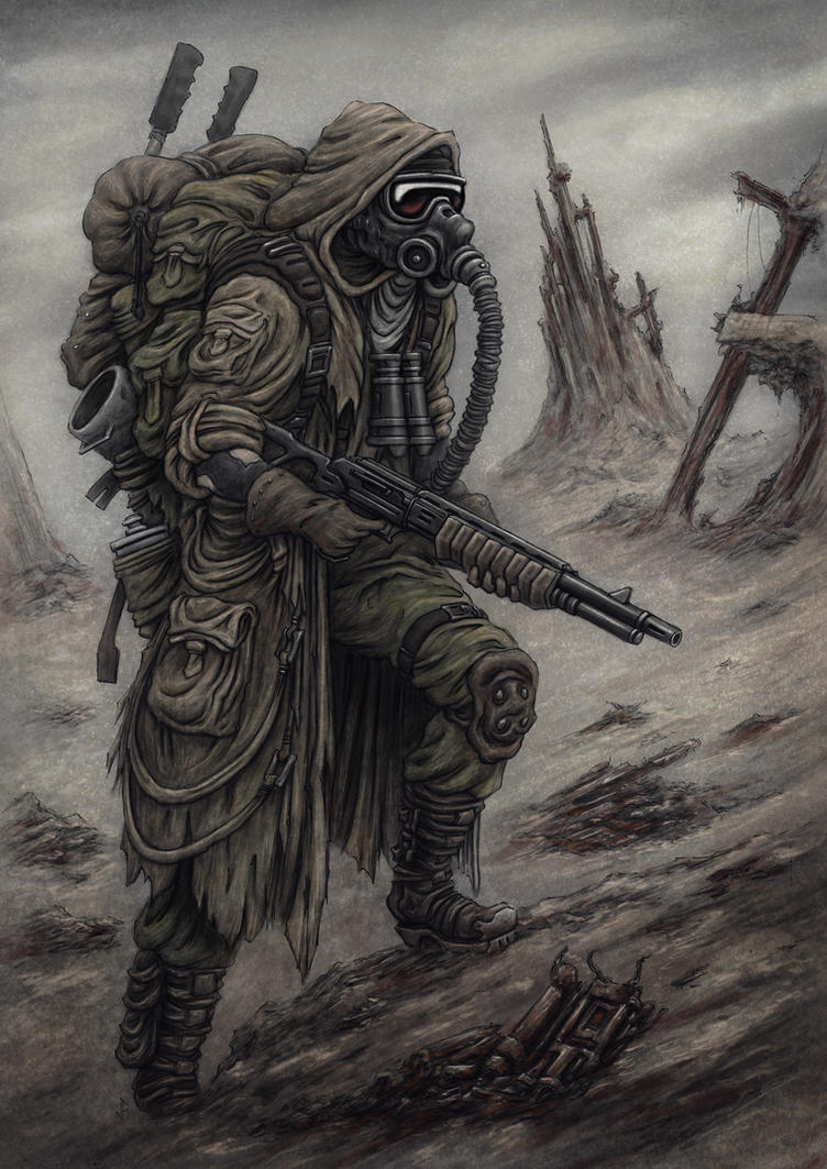 Wasteland Scavenger by jflaxman
