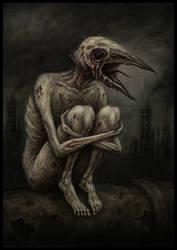The Songless Bird by jflaxman