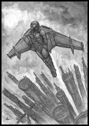 Flight of Icarus by jflaxman
