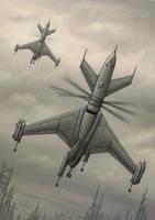 Whirlwind UAV by jflaxman