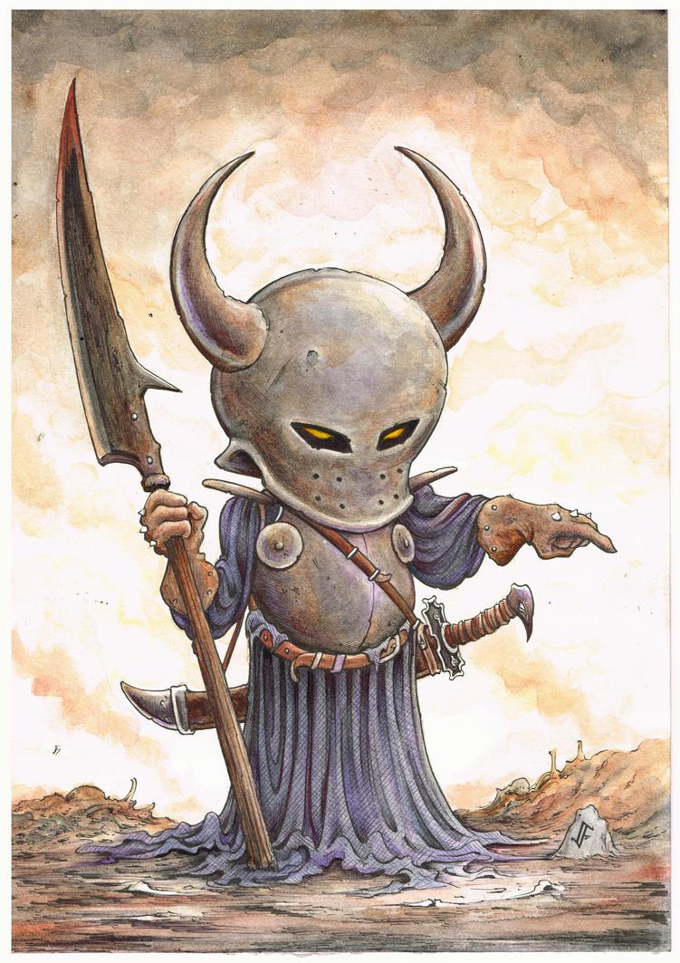 The Dark Lord Balbaroth by jflaxman