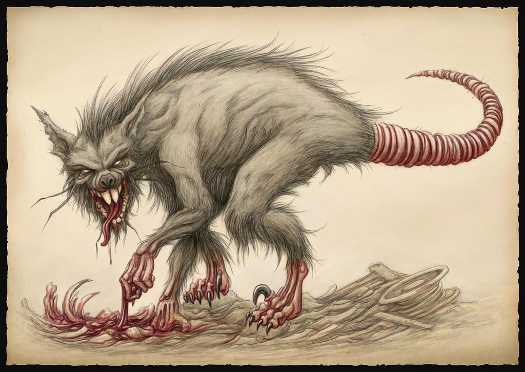 Rattus Deinonychus by jflaxman