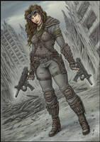 Gunslinger by jflaxman