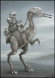 Diamaru Rider by jflaxman