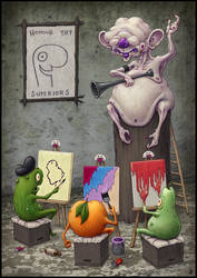 The Art Class by jflaxman