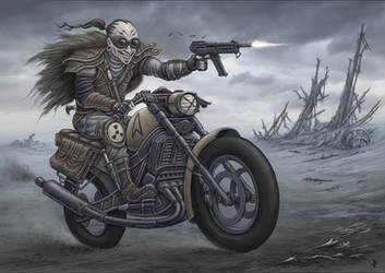 Warg Rider by jflaxman
