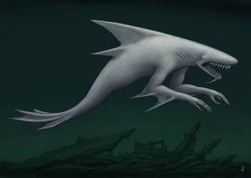 Abyssal Siren by jflaxman