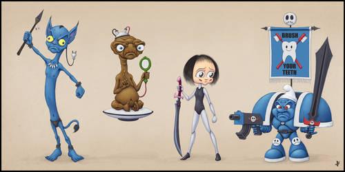 Alien Antagonists