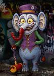 Donnie Dapperphant by jflaxman
