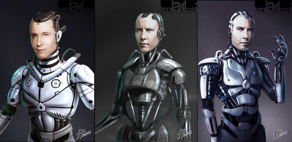 Image result for man robot