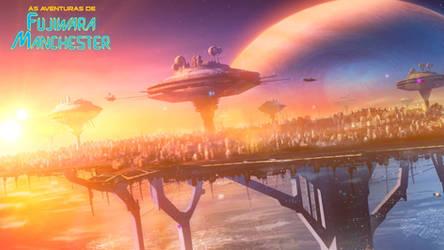Space city concept
