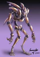 anime robot by fernandofaria
