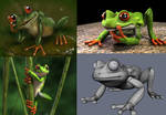 frog - design and 3d