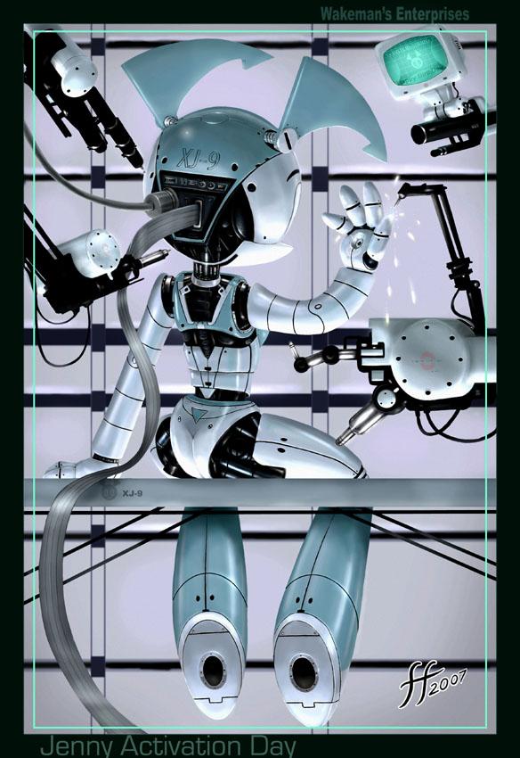 robot activation by fernandofaria