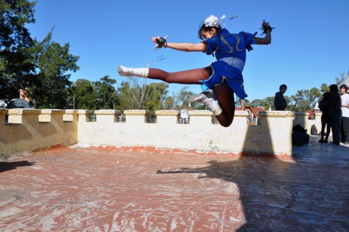 Flying Kick! by vichun