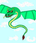 Old art:- Non-fox:- Chinese Dragon